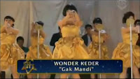 Wonder Kader - Gak Mandi ( the Hitz )
