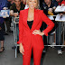 Trendy or Tacky: Red Pant Suits?