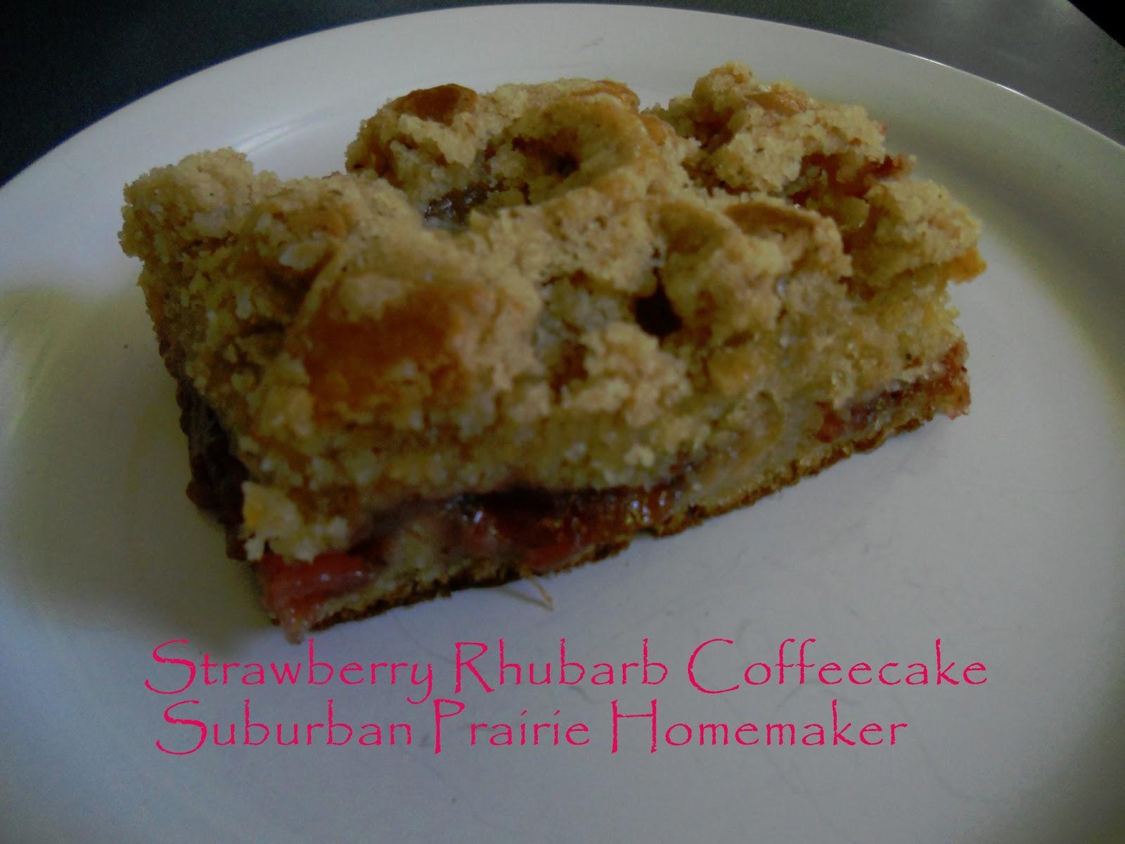 Rhubarb Coffee Cake With Yellow Cake Mix