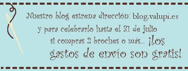Oferta hasta el 31 de julio - gastos de envío gratis si compras 2 broches o más, solo envíos a España