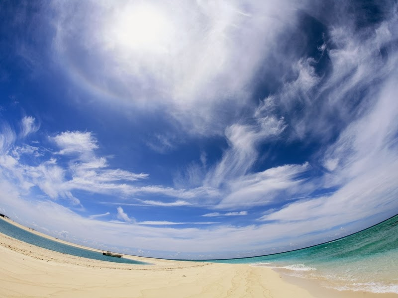 Sky Beach wallpaer Beautiful Nature Images And Wallpapers