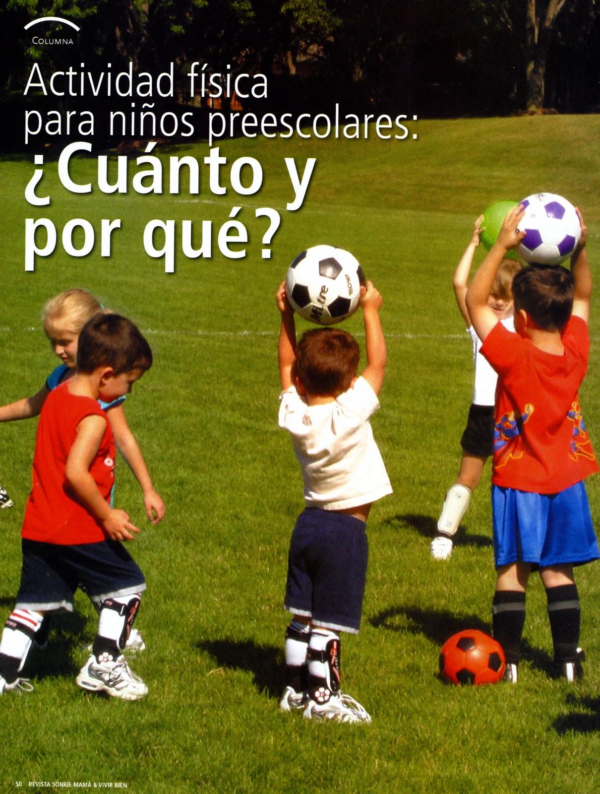 Educacion Fisica Para Ninos Actividad f Sica Para ni os
