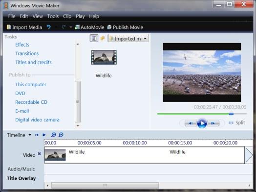 Windows 7 que deseen disponer de estas dos opciones en su Movie Maker ...