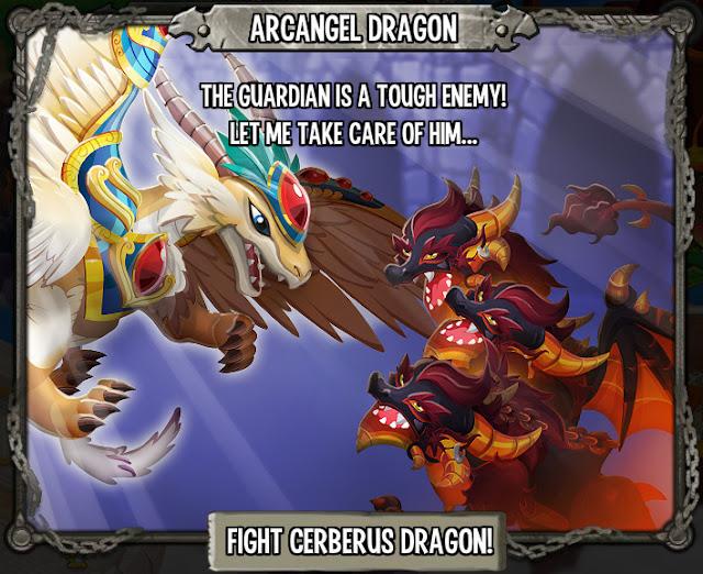 imagen de deus y el huevo del dragon arcangel