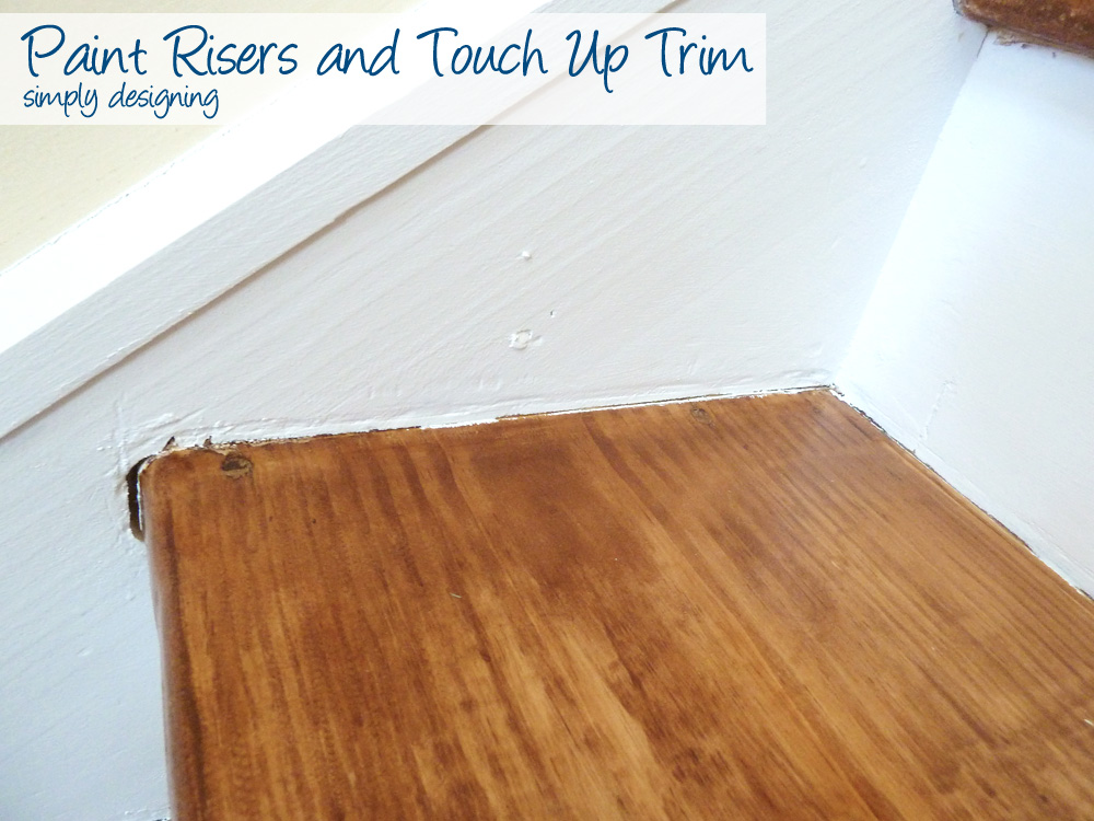 Painting Risers And Trim | Step By Step Instructions On How To Rip Up  Carpet And