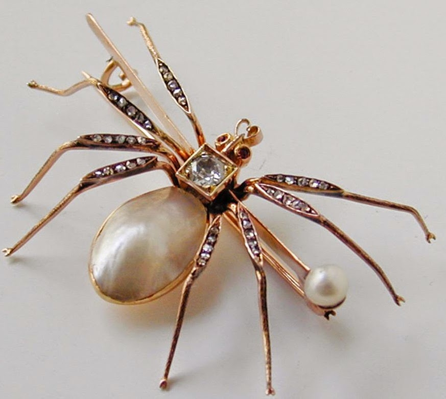 spider faberg of brooch rumors time giant faberge ring magnolia com untrue