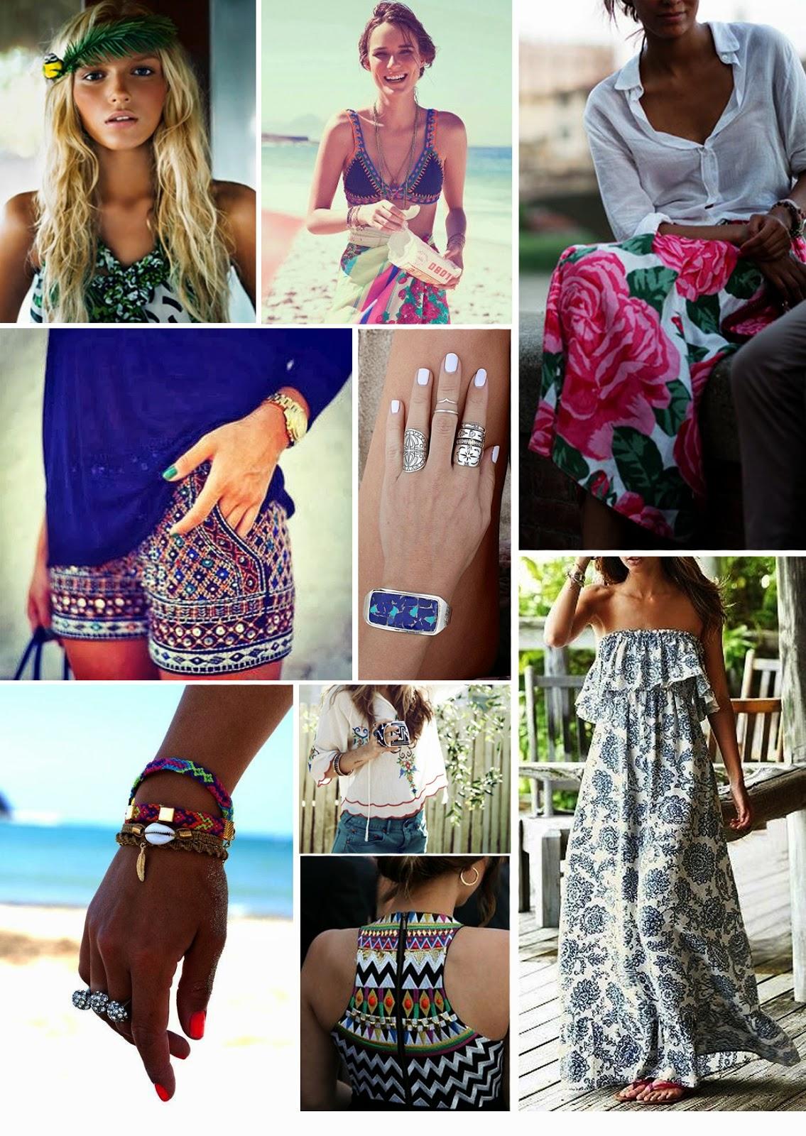 Ibiza Inspiration Fashion Dress In The Present
