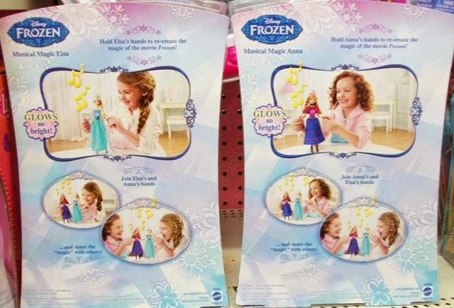 Mattel Disney Frozen Musical Magic Elsa and Anna