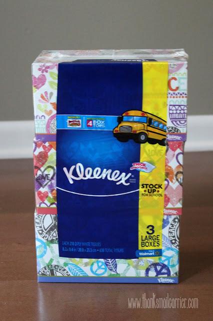 Kleenex at Walmart