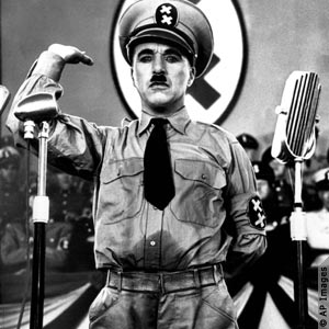 charlie chaplin as hitler