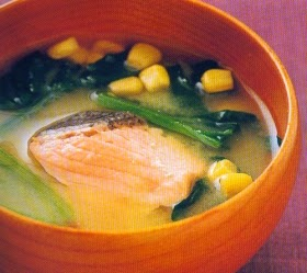 sup salmon jagung
