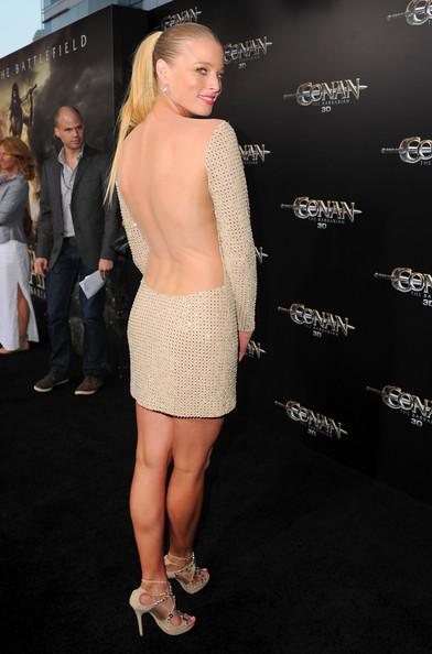 Rachel Nichols - Conan The Barbarian premiere in LA