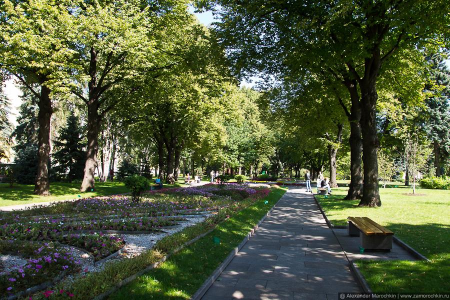 Тайницкий сад в Московском Кремле | The Secret Garden