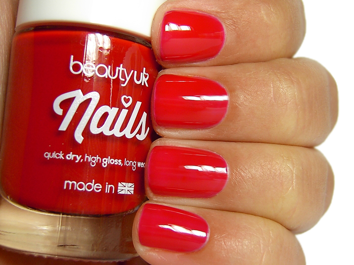 Beauty UK Nails - Post Box Red