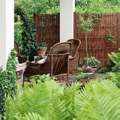 I haven hos Evigglade ♥: Havemøbler - før og efter