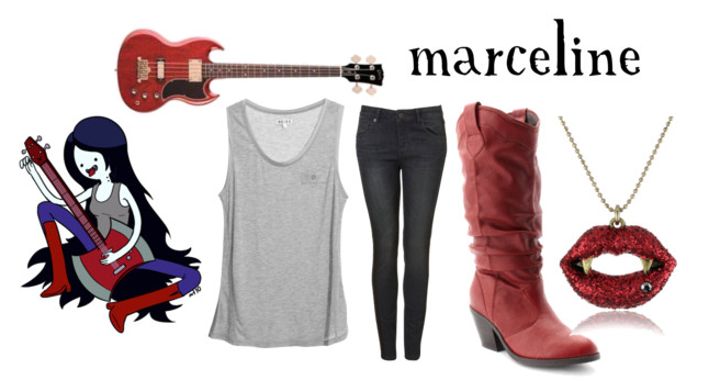 MARCELINE, the vampire queen,