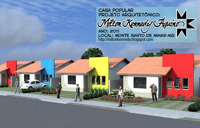 Projeto casas pequenas