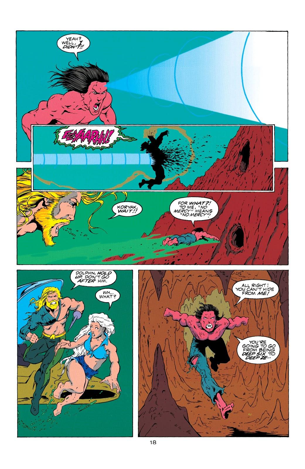 Aquaman (1994) Issue #7 #13 - English 19