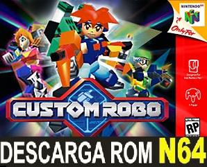 Custom Robo ROMs Nintendo64