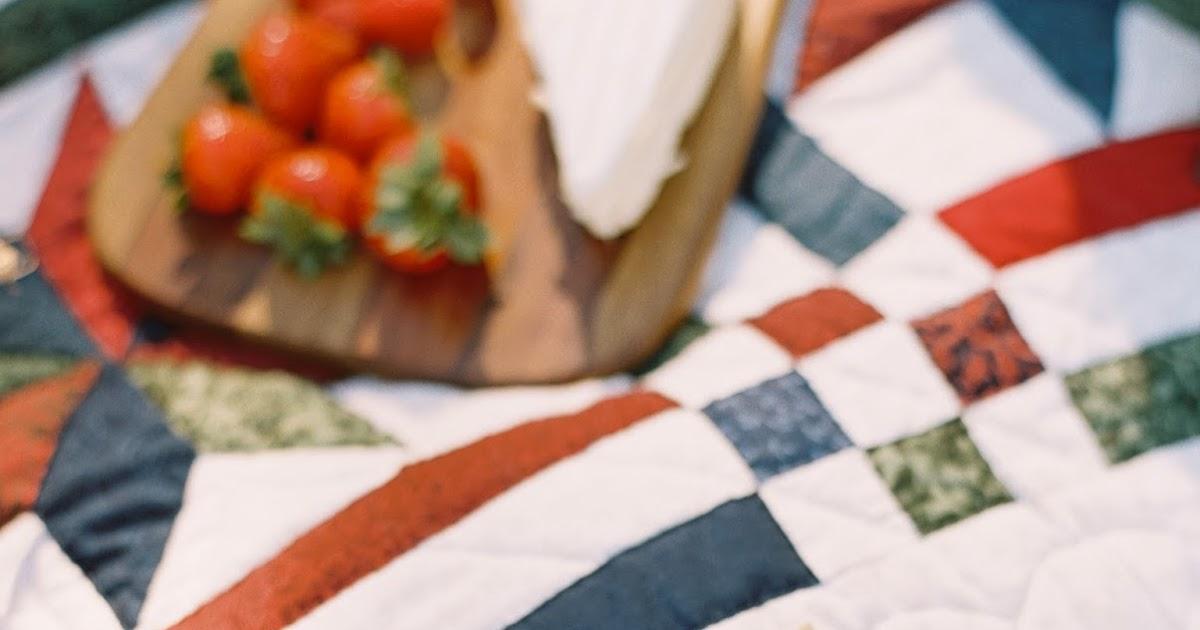 Long Ago Love: a vintage picnic engagement
