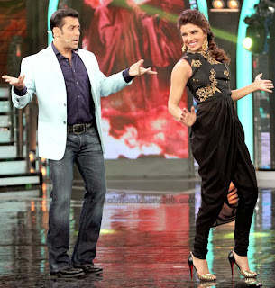 Priyanka Chopra on the sets of Bigg Boss to promote Krrish