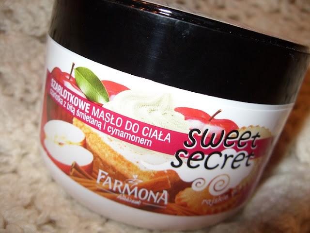 Recenzja: Szarlotkowe masło do ciała Sweet Secret, Farmona