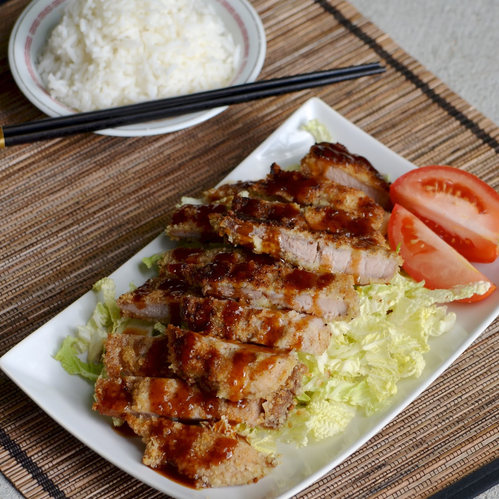 Anyways, this tonkatsu recipe is adapted from Rasa Malaysia . Since we ...