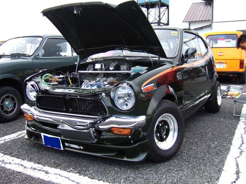 Honda Z, stary samochód, klasyk, japońska motoryzacja, kei car, jdm
