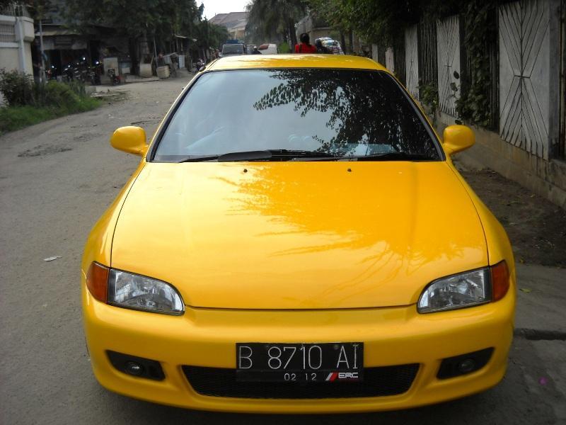 Modifikasi Honda Estilo kuning Mantap !!! title=