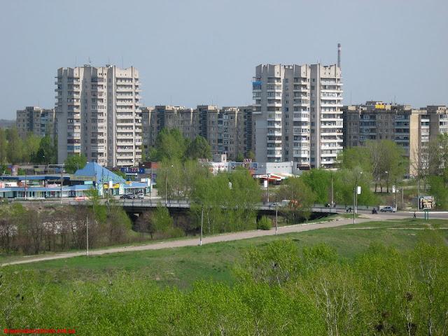 Весна в Днепродзержинске. Фото 2.