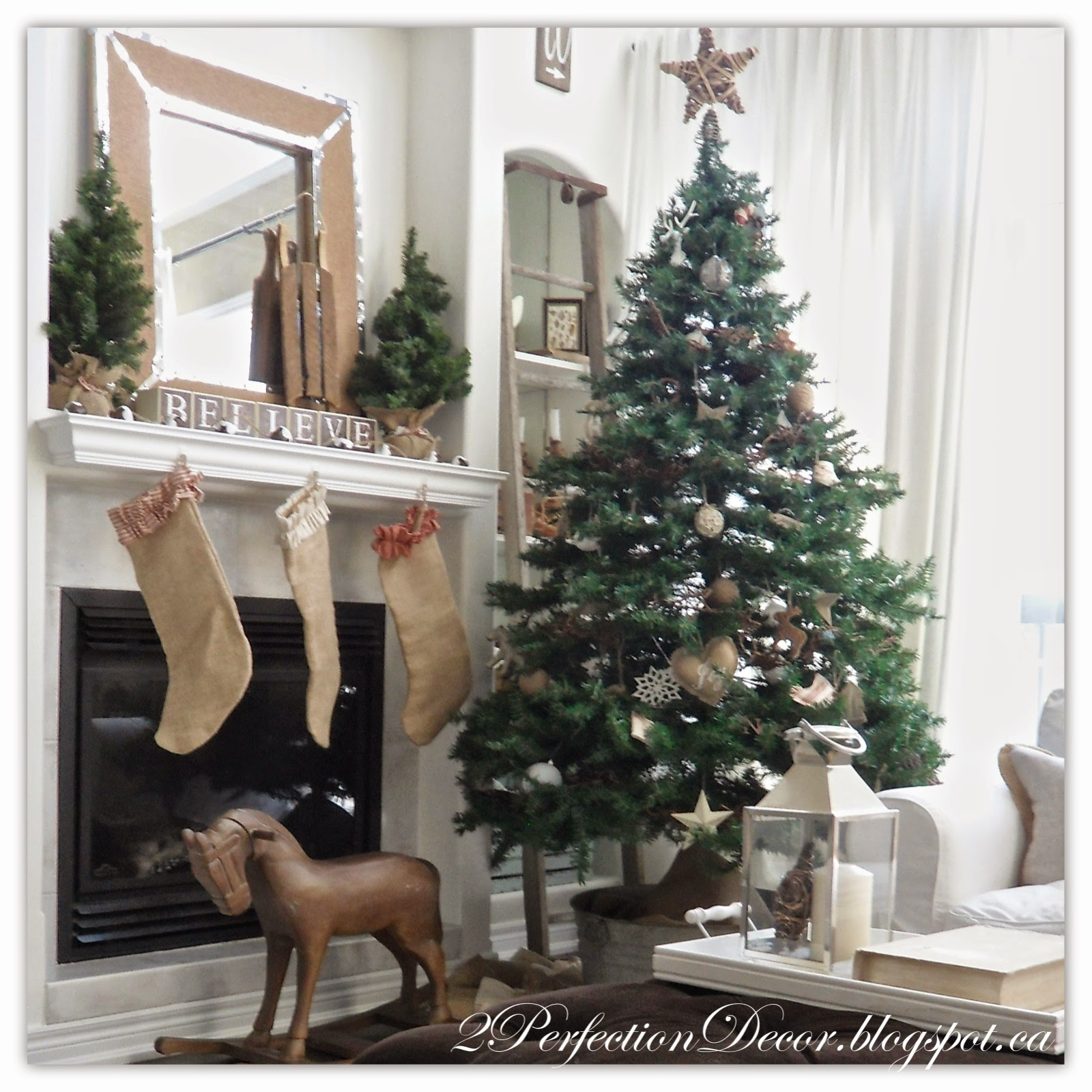 Country christmas decorations 2014 - Monday December 8 2014