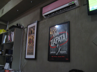 Zapata's interior in Jeju City