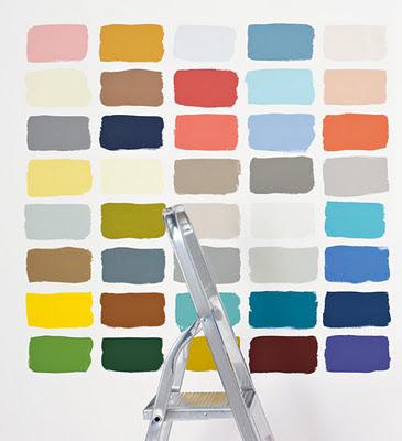 Interieurcursus verfkleuren kiezen kleuradvies for Kleuren verf kiezen