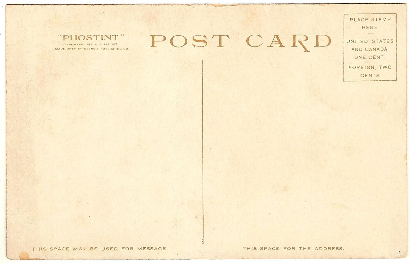 vintage postcards templates - Keni.candlecomfortzone.com