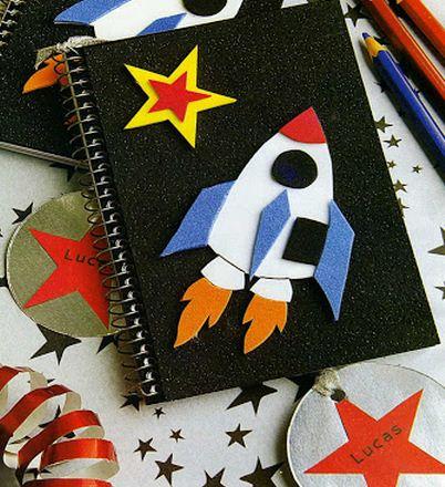 Como decorar cuadernos para ni os for Una estrella en el jardin
