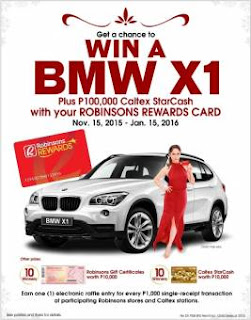 Robinsons promo, contest, Philippines promo, contest