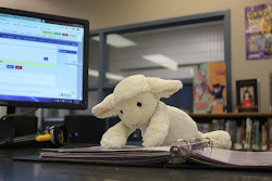 Our Library Sheep has his own Blog