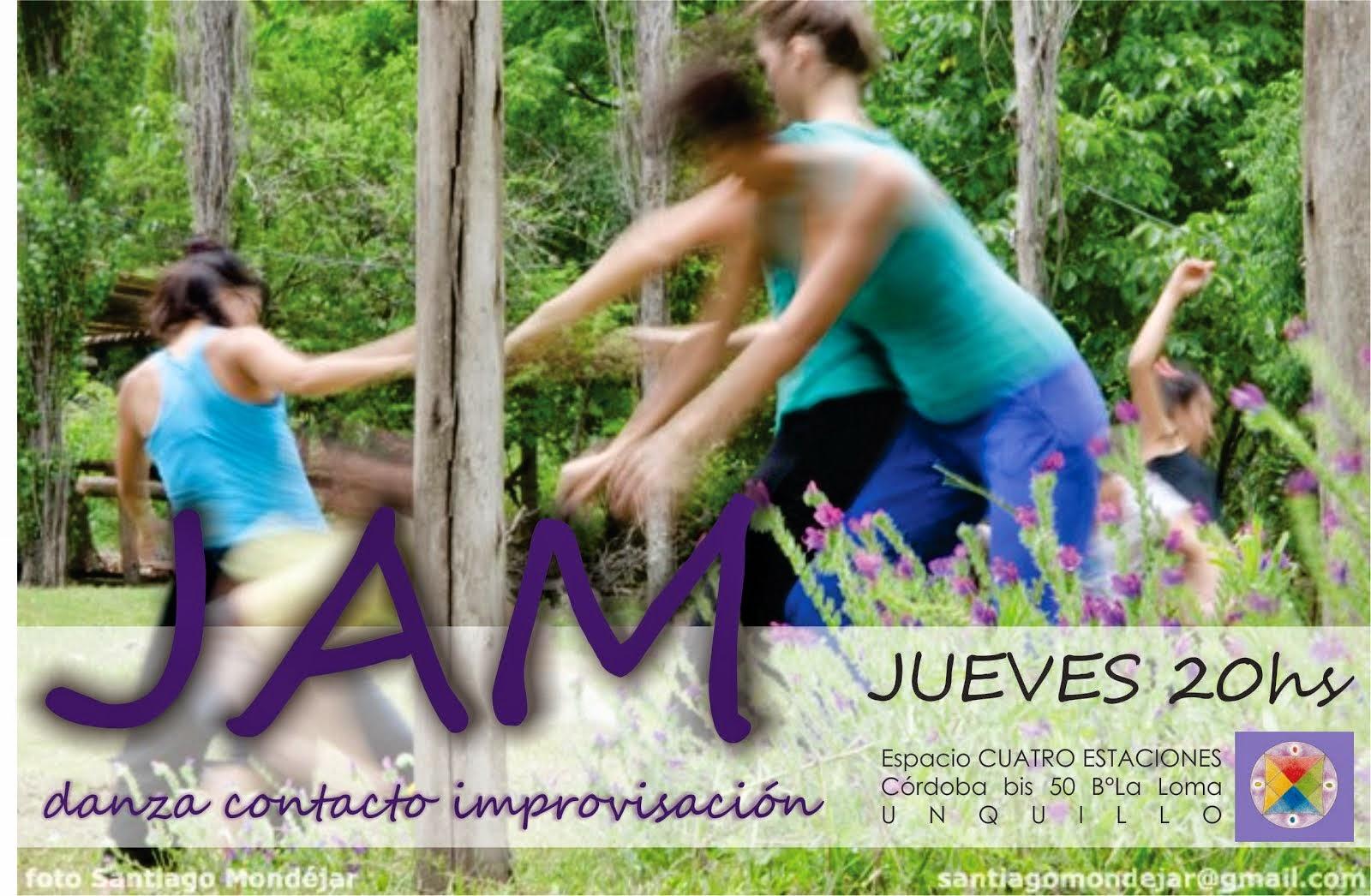 JAM danza contacto improvisación