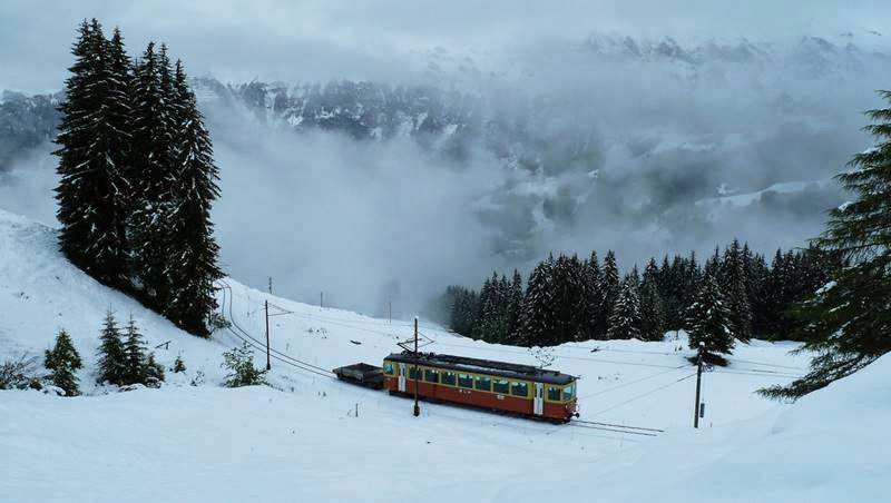 Jungfrau Railway Switzerland | The Highest Mountain Railway Station in Europe | Never Ever Seen Before & Jungfrau Railway Switzerland | The Highest Mountain Railway Station ...