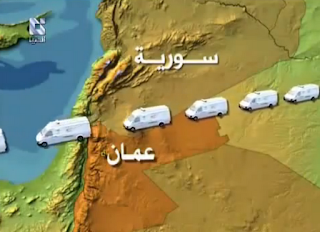 la proxima guerra complot conspiracion mapa ambulancias siria jordania armas quimicas