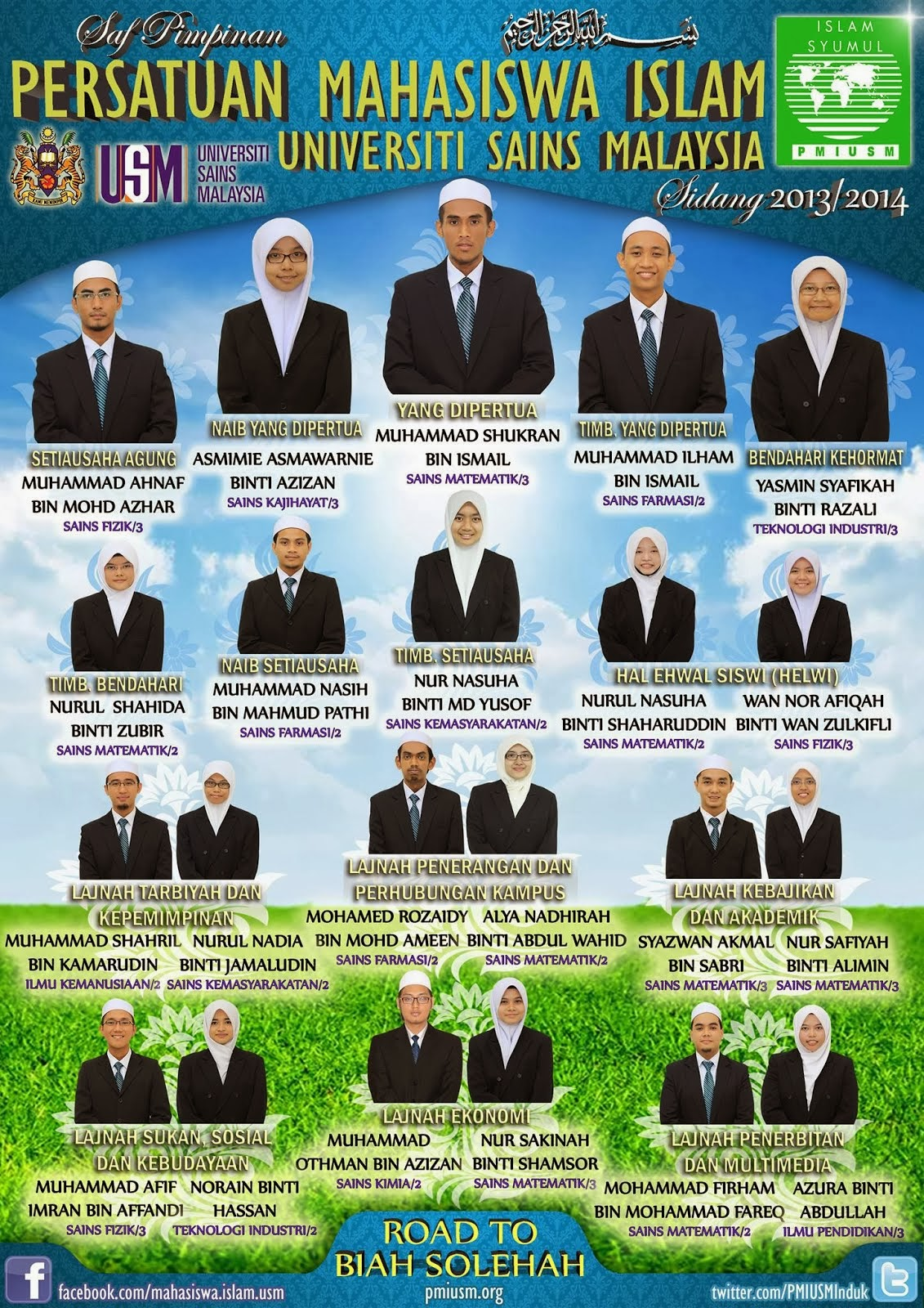 SAF PIMPINAN 2013/2014