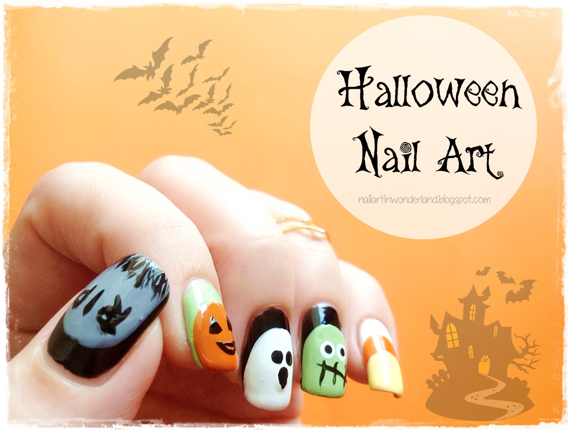 Nail Art in Wonderland: Twinsie Tuesday: Ruffians | 5 Halloween Nail ...