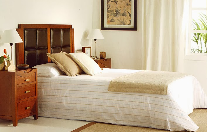 Muebles y decoraci n de interiores cabeceros de piel y tapizados para camas muy elegantes - Cabeceros de cama tapizados en piel ...
