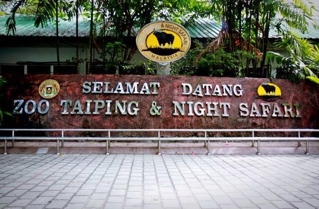 Zoo Taiping dan Night Safari