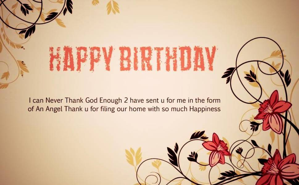 most romantic and cute birthday greetings sms wishes and quotes, Birthday card