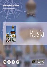 Catálogo de viajes a Rusia 2015 5 Estrellas Club
