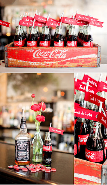 Coca Cola Wedding Drinks