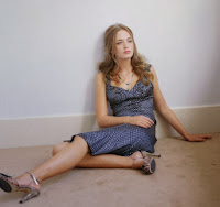 cute actress Emily Blunt with great legs