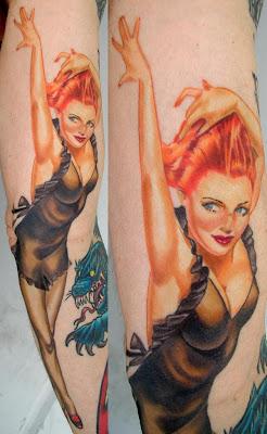 Tatuagem de Pin Up