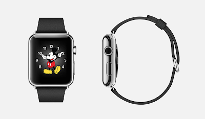 蘋果新產品 iWatch 有多種版本,甚至有米奇的造型指針。